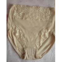 Printed Lace Stretch Cotton / Bamboo / Spandex Breathable OEM Maternity Support Panties Manufactures