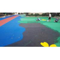Sports Venues Anti Slip Rubber Nuggets For Playgrounds , Multiple Colors Manufactures
