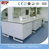 MDF Wood Physics Science Lab Tables Grey for Commercial Furniture Manufactures