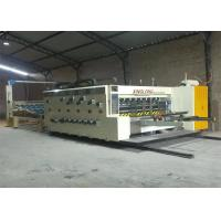 China 4 Colour Flexo Printing Machine For automatic Carton box making on sale