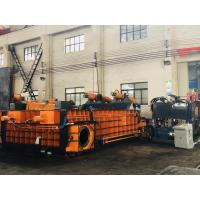 Buy cheap Double Main Cylinder Color Customized PLC Control Operation Baling Press Machine from wholesalers