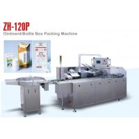PLC Control ZH 120P Automatic Cartoning Machine for Small Medicine Bottle Manufactures