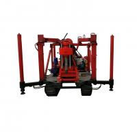 Electric Crawler Rotary Soil Testing Equipment New Condition 100m-120m Drilling Depth Manufactures