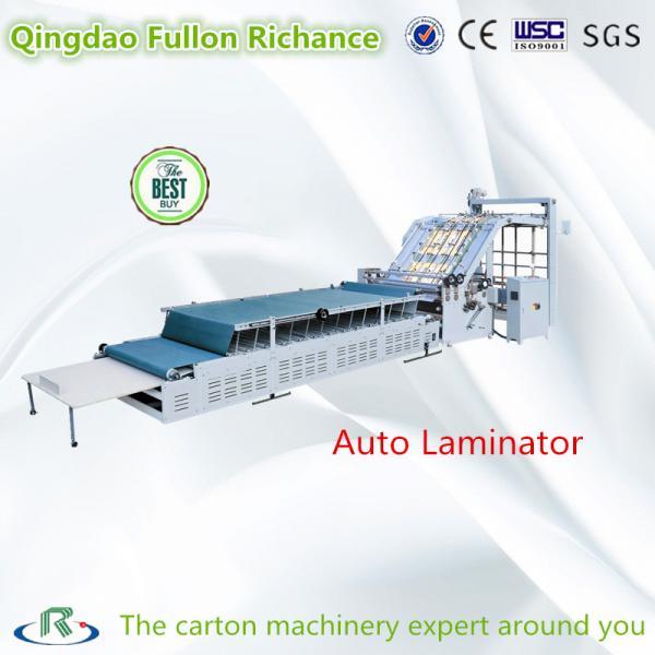 Quality Tissue Lifting Semi-Automatic Carton Flute Board Laminator for Carton Board for sale