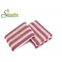 Kitchen Dish Washing Scrub Pads , Antibacterial Sponge Pads For Ceramic Tile Cleaning Manufactures