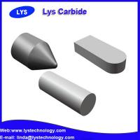 Cemented carbide welding inserts for making core clampers for lathes and periphery grinders Manufactures