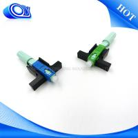 Blue / Green SC Type Fiber Optic Connector SM / MM For PON Networks OEM Manufactures