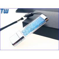 Acrylic Customized Colorful Diamond LED Light Shinning 2GB USB Flash Pen Drive Manufactures