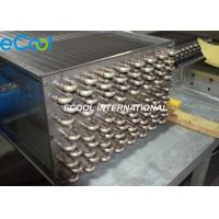 Epoxy Coating Anti Corrosive Heat Exchanger Copper Tube Aluminum Fins Manufactures