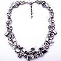 alloy chains bead necklace with plastic bead southwestern jewelry sik tassel necklace Manufactures