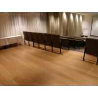 China Horizontal bamboo flooring radiant heat Abrasion > 400 on sale