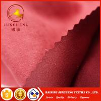 145gsm Microfiber suede fabric garment fabric wholesale dress fabric Manufactures