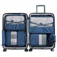 Large Capacity Bra And Underwear Travel Bag Packing Cubes 8pcs Organizers Set Manufactures