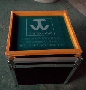 Customized AluminumTool Cases12U Print Logo Rack Case Anti-shock Foam Inside Manufactures