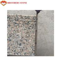 China Peach Red / Natural Pink Granite 3cm Granite Slab For Kitchen Countertops on sale