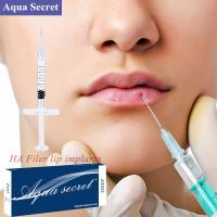 Buy cheap 1ml Fine Line Anti-wrinkle filler Cross-linked Hyaluronic Acid Injection Dermal from wholesalers