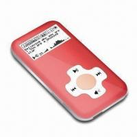 Private Tooling Flash MP3 Player with FM Radio, with Full Speed of USB 2.0 Transfer Manufactures