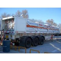 223 Natural gas tank truck for CNG transport, 3600PSI, 5100CBM Manufactures