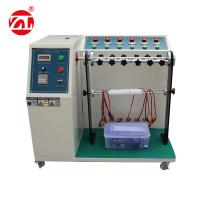 Cable Bending Fatigue Testing Machine , 220V 50hz Automatic Cable Flex Tester Manufactures