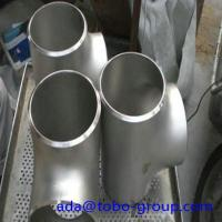 12 Inch Sch40 Butt Weld Fittings Stainless Steel Equal Tee WPS33228 Manufactures