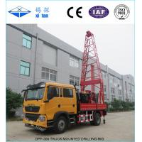 China Truck Mounted Drilling Rigs with Torque 3500N . m DPP - 300 on sale