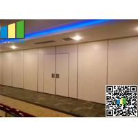 "Quality 3 3/8"" Operable Exhibition Partition Walls 85mm Room Divider Walls For Exhibition Hall for sale"
