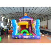Inflatable pink The carriage princess standard slide disney pink inflatable princess castle carriage slide Manufactures