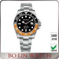 Unqiue Design Nice Ladies Dive Watch , Stainless Steel Waterproof Watches For Diving Manufactures