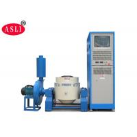 Blue Vibration Test Equipment , Electrodynamic High Frequency Vertical Vibration Tester Manufactures