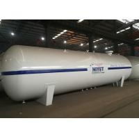 Large Lpg Bulk Storage Tank , 30 Tons 65CBM Liquid Propane Gas Tank  For Gas Filling Plant Manufactures