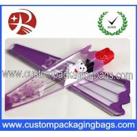 China OEM Custom Printed Opp Custom Packaging Bags Single Rose Flower Sleeve Wrapping on sale