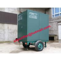 Onsite maintenance transformers Oil Purification Machine, mobile insulation oil refinery Manufactures