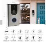 300m working distance Home smart wireless wifi doorbell wifi HD doorphone camera visual doorbell Wireless Doorbell Manufactures