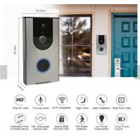 China Wifi Wireless Visual Intercom Smart Doorbell For Home Security With APP Control Ring Alarm Security Wireless Wifi Video on sale