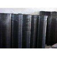 China Extruder Iron Fine Black Wire Cloth , Plastic Coated Hardware Cloth on sale