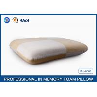Anti-allergic Jacquard Velour Traditional Memory Foam Pillow Perfect In Head Support Manufactures