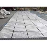 Smooth Surface Natural Marble Tile 80 - 90 Polished Degree High Hardness Manufactures