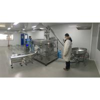 phosphor Powder packaging stand up pouch filling and sealing machine Manufactures
