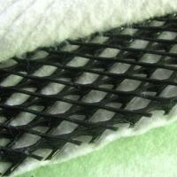 Quality High Strength Geocomposite Drain , Tri - Dimension HDPE Geonet for sale