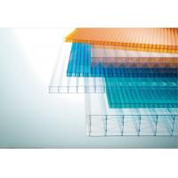 China Light Weight Multiwall Polycarbonate Sheet Uv Roof Sheeting 10 Years Guarantee on sale