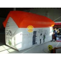 Waterproof Advertising Helium Custom Shaped Balloons House Shape with Digital Printing Manufactures