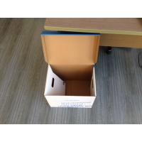 China Corrugated carton box , Bank file box, File box on sale