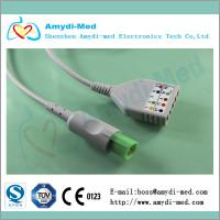 Hellige ecg cable ecg trunk cable, CE and ISO certificate Manufactures
