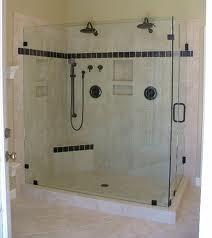 China frameless shower enclosure on sale