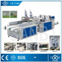 9Kw Auto Polythene Bag Manufacturing Machine / Equipment With Two Sealing knifes Manufactures