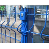 Home Garden Building PVC Coated Welded Wire Mesh Fence With Post Manufactures