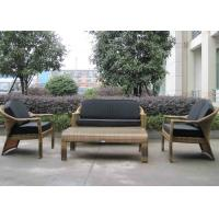 European Style Hand-Woven Outdoor Rattan Furniture Sofa Chair Manufactures