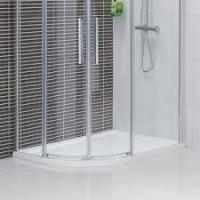 China Two swing door quadrant shower enclosure  on sale