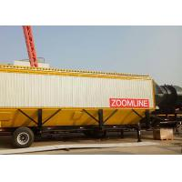 China High Efficiency Stable Hot Mix Mobile Plant 40-160 Tph Long Service Life on sale