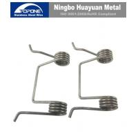 China Industrial Stainless Steel Wire Forming Zinc Plated Double Spiral Torsion Spring on sale